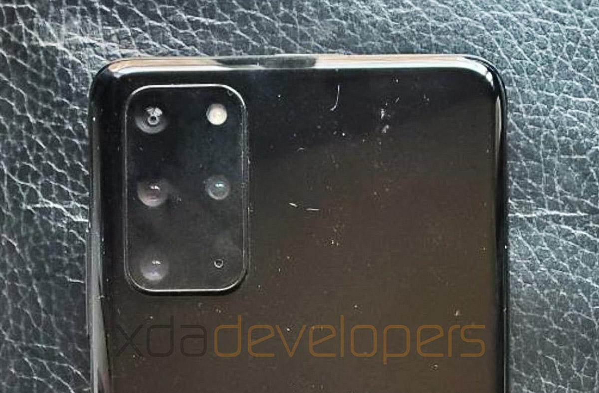 Samsung Galaxy S20 Ultra hátlap kamerák